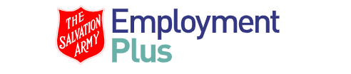 Logo for The Salvation Army Employment Plus - Brunswick